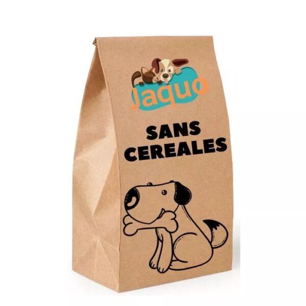 Croquettes sans céréales au saumon pour chien