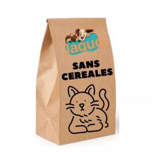 Croquettes sans céréales pour chats adultes au saumon