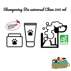 Shampooing Universel Bio pour Chien à l'Aloé Véra