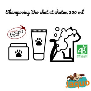 Shampooing bio Chat et Chaton