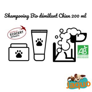 Shampooing Démêlant Bio pour Chien à poils longs