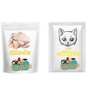 Repas dégustation Effilés DINDE pour chats