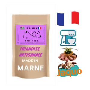 friandise pour chien cuisinée dans la marne magret de canard deshydraté