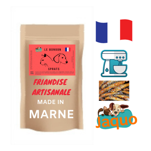 friandise_pour_chien_cuisinée_dans_la_marne_sprats_déshydratés